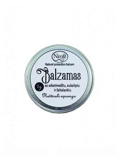 Protective balms for nose.