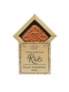Solid shampoo Rose.
