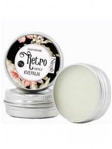 Solid perfume. Retro