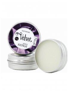 Solid perfume. Velvet
