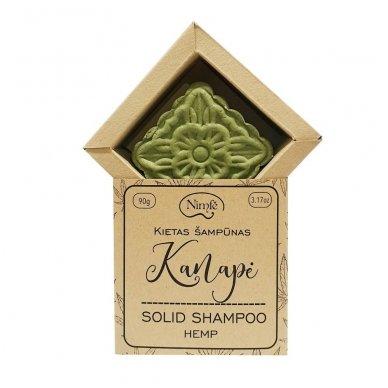 Kietas šampūnas KANAPĖ