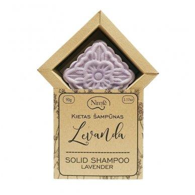 Kietas šampūnas LEVANDA 2