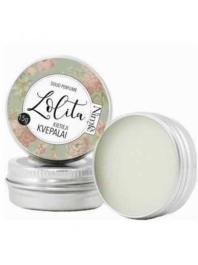 Solid perfume. Lolita