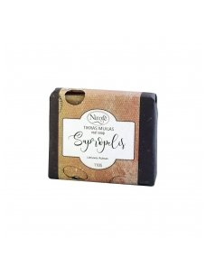 Natural soap. Sapropel