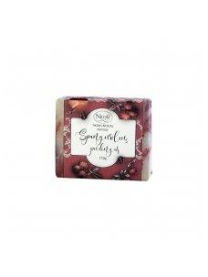 Natural soap. Cranberry soap