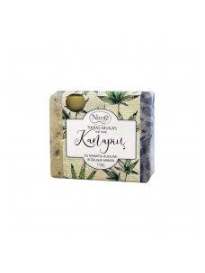 Natural soap. Hemp soap.