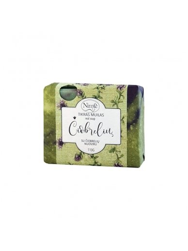 Natural soap. Thyme.