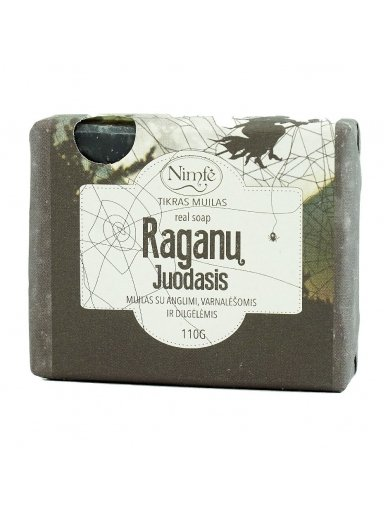 Natural soap. Witch's Black.