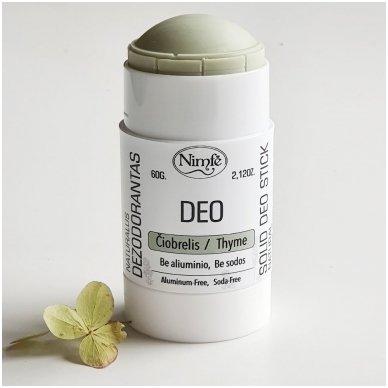 Natūralus dezodorantas Čiobrelis