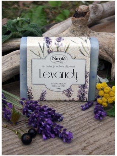 Natural soap. Lavender. 2